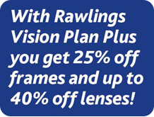 Rawlings vision plan plus